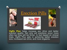Vigrx plus by Erection  Pills via slideshare