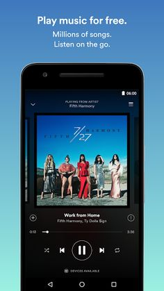 Spotify Music v8.4.22.849 Beta [Mod]   Spotify Music v8.4.22.849 Beta [Mod]Requirements:4.0.3Overview:Spotify is now free on mobile and tablet. Listen to the right music wherever you are.  Spotify is now free on mobile and tablet. Listen to the right music wherever you are. With Spotify you have access to a world of music. You can listen to artists and albums or create your own playlist of your favorite songs. Want to discover new music? Choose a ready-made playlist that suits your mood or…
