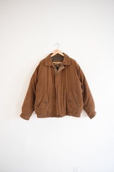 90s Brown Jacket // GUTTERSHOPWEST
