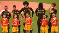 Belgium National Soccer Team .