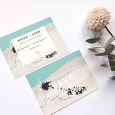 wedding stationery sample pack scandi modern wedding stationery