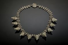 Bor Necklace by Nakarali. Tribal belly dance jewelry.