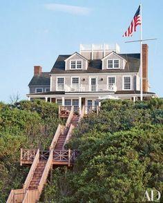 Classic shingle home on the coast