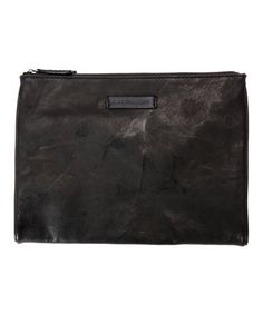 Love this Black Michelle Leather Tech Clutch on #zulily! #zulilyfinds