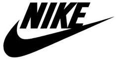 "Nike Logo Decal Sticker - NIKE-LOGO, Personalize your car, truck, window, etc. with this vinyl decal ""Nike Logo"" die-cut sticker. Nike Logo, Nike Swoosh Logo, Pink Nikes, White Nikes, Picsart, Starbucks Logo, Nike Wallpaper, Jesus Wallpaper, Tumblr"