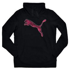 Puma Womens French Terry Pullover Sweatshirt