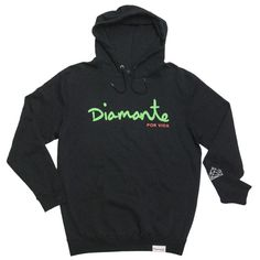 Diamond For Life Hoodie in Black XL