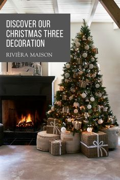 45 Fascinating Rustic Christmas Tree Ideas To Beautify Your Home Elegant Christmas Trees, Silver Christmas Decorations, Cosy Christmas, Christmas Tree Inspiration, Christmas Feeling, Christmas Tree Design, Gold Christmas Tree, Christmas Tree Themes, Christmas Baubles