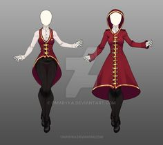 Belongs to: What can I do with an Adoptable Outfit? Use it for your OC (Own Character)Use it for a game/website (Commercial Project) Use it as a Cosplay Outfit or just sewing it Rules:. Anime Kimono, Anime Dress, Anime Outfits, Mode Outfits, Fashion Outfits, Dress Drawing, Drawing Clothes, Fashion Design Drawings, Fashion Sketches