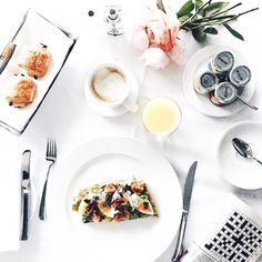 If breakfast came delivered to my door looking like this every day I'd definitely be a morning person. by icovetthee