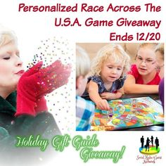 Cassandra M's Place: Personalized Race Across The U.S.A. Game Giveaway