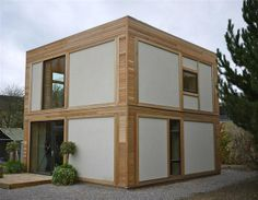 Straw bale house (© Image © Modcell)