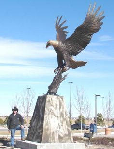 Three Times Life Size American Bald Eagle (Base)