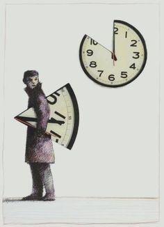 Piece-a-Time Man takes the writers time away in small amounts hoping they won't notice how it's slipping away. Time Of Your Life, No Time For Me, All About Time, Chicago Poster, Father Time, Surrealism Photography, Time Art, Surreal Art, Dark Art