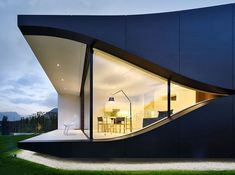 mirror houses by peter pichler reflect the mountains of north italy