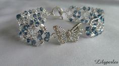 Bracelet Envolée de papillons