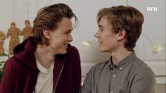 E: You don't think it's awkward? I: I don't think anything is akward anymore, as long as you smile E: I can do that!