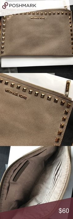 Michel Kors Wristlet/Clutch. Gently used Michael Kors Bags Clutches & Wristlets