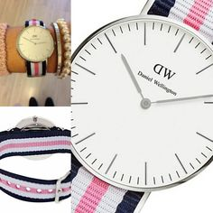 46ed7bf63d96 Daniel Wellington 0605DW Women s Watch Classic Southampton Multi-Color  Nylon Strap. Ultra-Slim