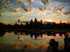 See the magnificent sunrise over Angkor Wat on a Taste of Cambodia Food Adventure Tour. Click on the link for details of this awesome trip. #sunrise #angkorwat #siemreap #cambodia #temple #food #adventure #streetfood  #yummy #delicious #eat #streetfood #foodadventures #tastetravel #tastetravelfoodadventuretours #sunshinecoast #australia #holiday #vacation #instafood #instagood #followme #localsknow #cookingclass #foodie #foodietour #foodietravel #picoftheday