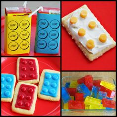 Cowie's Craft & Cooking Corner: Lego Party Food