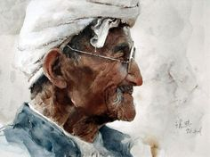 Chinese watercolors by Guan Weixing