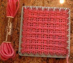 Weave-it loom window