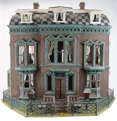American, circa 1870; This is a quintessential dolls' house and certainly the most celebrated in this collection. In Antique Dolls' Houses, ...