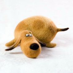 Dog by feltmaster.ru