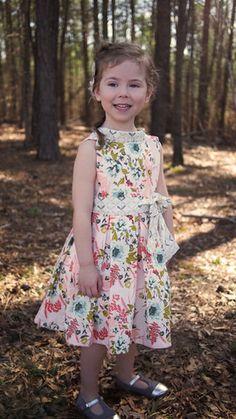 Marjorie dress pdf pattern