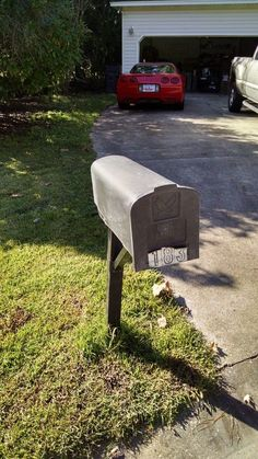 When we bought our house, the mailbox was on its last leg....literally!   When we bought our house, one of the first projects we tackled was replacing this sad…