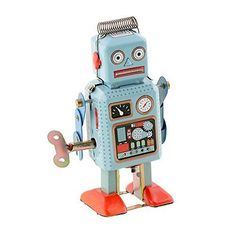 Peradix Funny Dark Green Clockwork Spring Wind Up Metal Walking Robot Retro Vintage Mechanical Kids Toddlers Children Toy ,Christmas gift ideas for kids here you will find robots with a personality, quadcopter camera, finger monkey toys, cool night lights for kids, vtech kidizoom smartwatch, toy helicopter ball, ballerina musical jewelry boxes and much more!