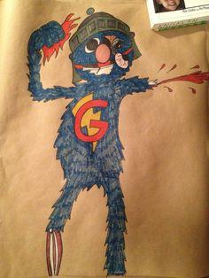 Zombie Sesame Street -Super Grover