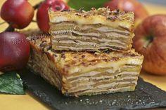 MILHOJAS DE FOIE Y MANZANAS http://www.menorcana.com/2011/07/milhojas-de-foie-y-manzana/ para ver como poner las manzanas al horno