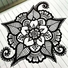 cool designs to draw with sharpie flowers google search
