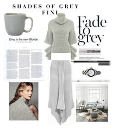 """Shades of Grey"" by fini-i ❤ liked on Polyvore featuring Dansk, Juliska, Meraki, Bobbi Brown Cosmetics and Barry M"