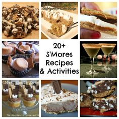 Happy National S'mores Day! Over 20+ S'mores recipes and activities!