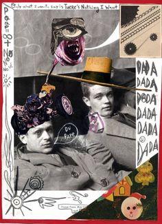 Tristan Tzara, René Crevel (Rectified Man Ray) Collage 1928 Man Ray, Tristan Tzara, Dada Collage, Collage Book, John Heartfield, Dada Artists, Hans Richter, Francis Picabia, Portrait Photography Men