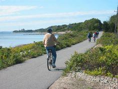 Shining Sea bike-trail ~ Falmouth MA
