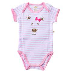 Desenvolvido em um lindo design e com tecido super macio e confortável, o Body Polo Suedine Pink Dog é ideal para deixar seu bebê com mais estilo e conforto no dia a dia ou nos momentos de passeios e diversão.