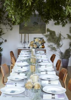Italian Friendsgiving Table Inspiration #anthropologie #pintowin a simple white thanksgiving Repin Via: Remodelista