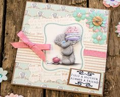 Me to You Tatty Teddy Mother's Day Card Tutorials - Trimcraft