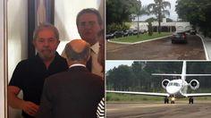 Lula deixa Brasília às pressas ao saber de nova fase da Lava-Jato. Seria um mandado de prisão