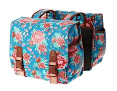 BASIL BLOOM DOUBLE BAG double pannier for women at ROSE Bikes. b4edb7accaa21