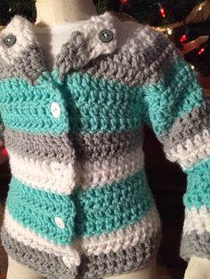 A personal favorite from my Etsy shop https://www.etsy.com/listing/226189399/baby-infant-to-18-months-double-crochet