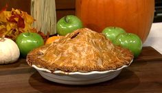 the chew | Recipe  | Carla Hall's Ten Gallon Apple Pie