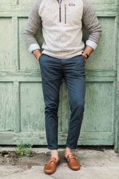 Fall mens look. Casual Preppy Outfits, Preppy Fall Fashion, Mens Casual Suits, Casual Wear For Men, Preppy Clothes, Men Wear, Winter Fashion, Mens Fashion Website, Men Fashion