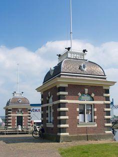 Sluis te Lemmer, Fryslân (the Netherlands )