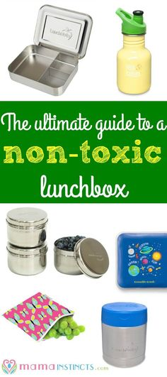 Pack your kid's school lunch with these non-toxic and eco-friendly lunchbox must haves.