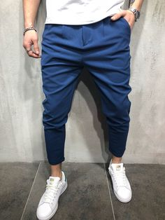 Ankle Pants Roll Up Trousers (6 Colors)